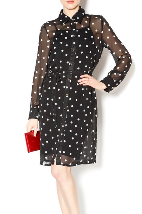 Polka Dot Dress by Frock Shop in We Are Your Friends