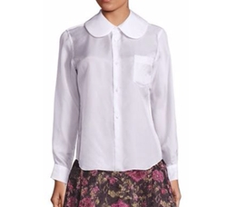 Peter Pan Collar Blouse by Comme des Garcons in Empire