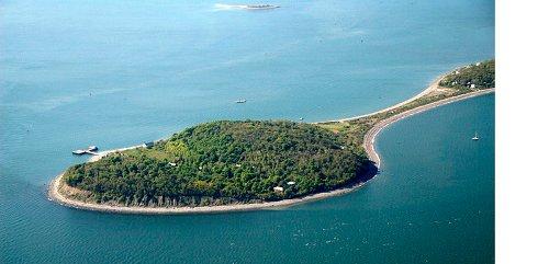 Peddocks Island Hull, Massachusetts in Shutter Island