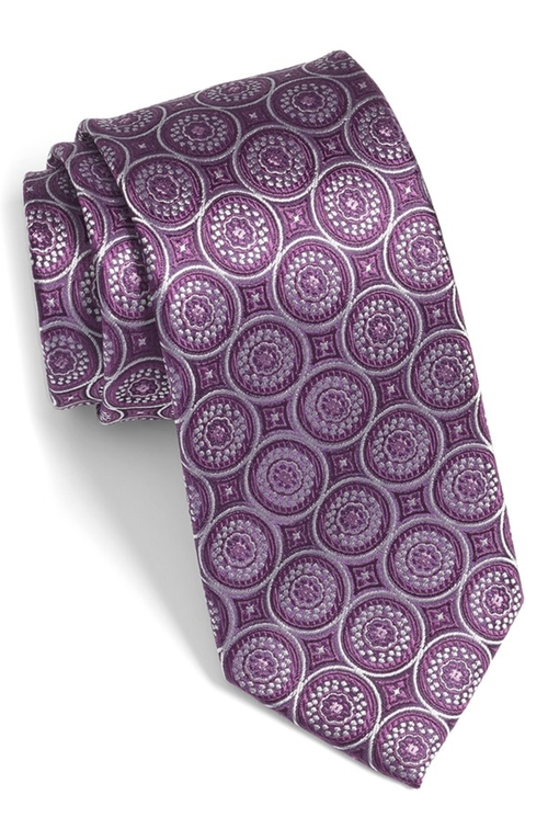 Medallion Silk Tie by Bugatchi in The Blacklist - Season 3 Episode 16