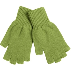 Fingerless Cashmere Gloves by Johnstons of Elgin in Scream Queens