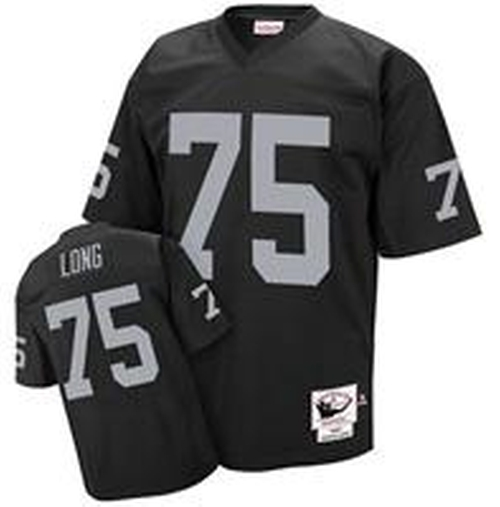 Los Angeles Raiders 1987 Dark Howie Long 75 Black Jersey by Jerseys To You in Straight Outta Compton