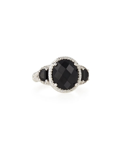 Faceted Onyx Ring by Judith Ripka in Daredevil
