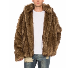 Faux Fur Jacket by C2H4 in Collide