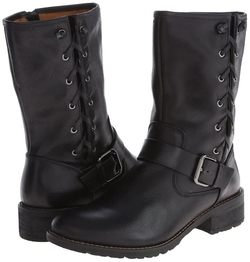 Acasia Buckle Strap Zipper Fashion Boots by Sofft in Jessica Jones