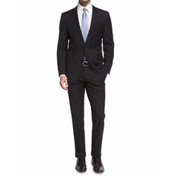 Huge Genius Slim-Fit Basic Suit by Boss Hugo Boss in Quantico