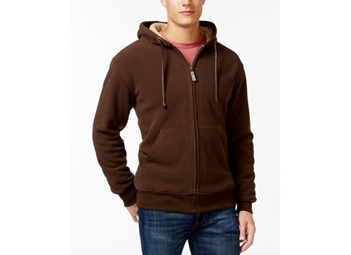Weatherproof Fleece Hoodie by Sherpa in Krampus