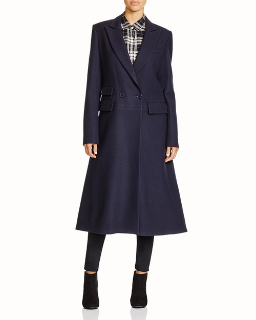 Flared Wool Coat by DKNY in Scandal - Season 5 Episode 8