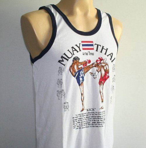 Men Tank Top by Muay Thai Kick Boxing in Only God Forgives