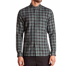 Plaid Button-Down Shirt by Public School in New Girl