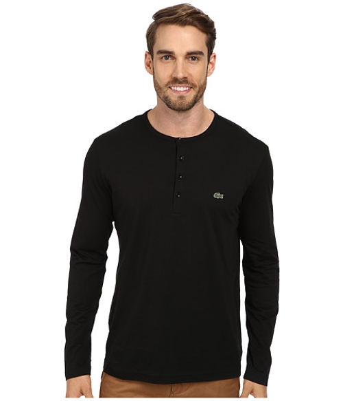 Henley Pima Jersey T-Shirt by Lacoste in Ricki and the Flash