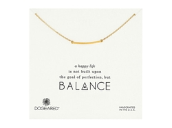 Balance Medium Square Bar Necklace by Dogeared in Pretty Little Liars