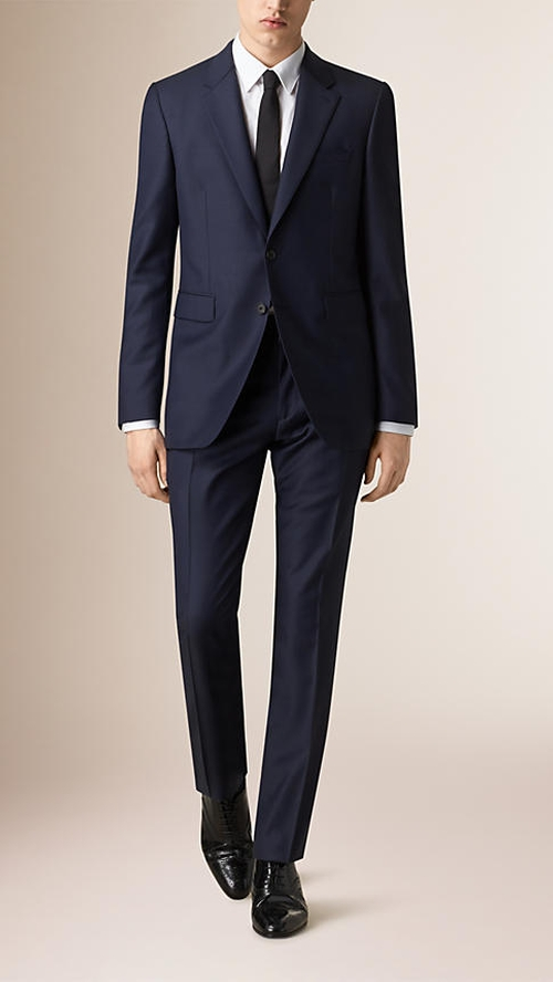 Modern Fit Wool Suit by Burberry in Suits