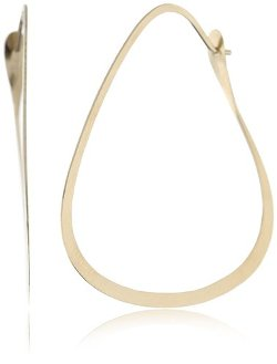 Triangle Hoop Earrings by Melissa Joy Manning in Top Five