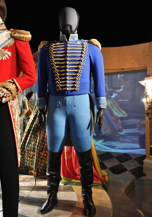 Custom Made 18th Century Hussar Military Uniform (Captain) by Sandy Powell (Costume Designer) in Cinderella