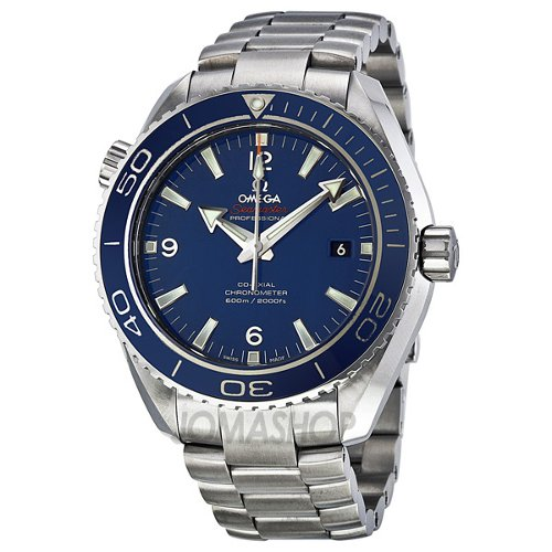Seamaster Planet Ocean Big Size Mens Watch by Omega in Focus