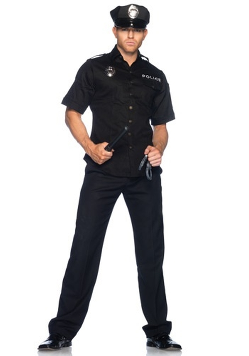 Realistic Police Costume by Halloween Costumes in Let's Be Cops
