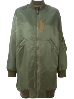 Oversized Bomber Jacket by R13 in Keeping Up With The Kardashians