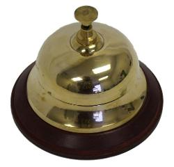 Front Desk Bell by ITDC in Mortdecai