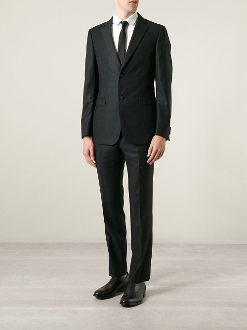 Tuxedo Two Piece Suit by Z Zegna in Begin Again