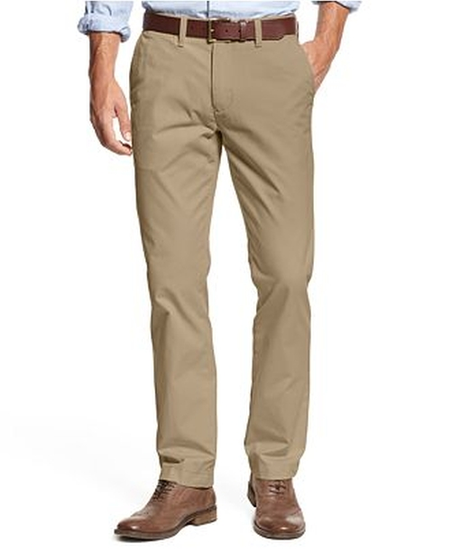 Mercer Custom Fit Chino by Tommy Hilfiger in Paper Towns
