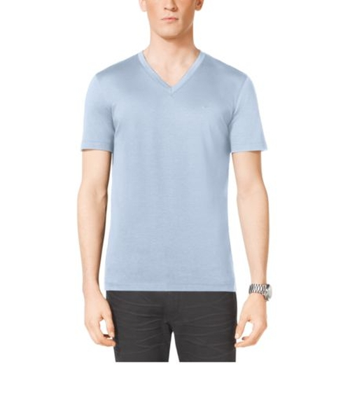V-Neck Cotton T-Shirt by Michael Kors in Barbershop: The Next Cut