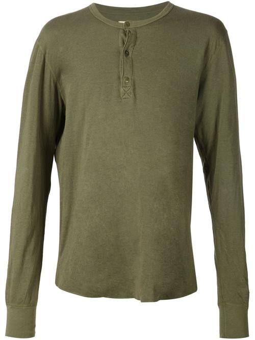 Longsleeved Henley T-Shirt by 321 in Jessica Jones - Season 1 Episode 11