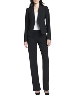 Emery 2 Straight-Leg Pants by Theory in About Last Night