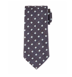 Neat Floral Silk Tie by Eton in The Blacklist