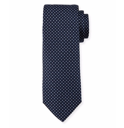 Pindot Silk Tie by Boss in House of Cards