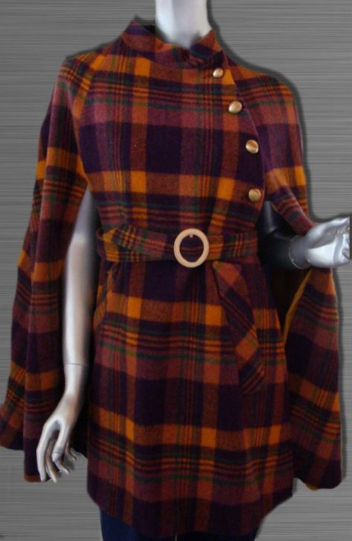 Tartan Cape with Belt by Jerold in Confessions of a Shopaholic