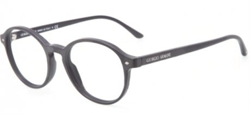 Round Eyeglasses by Giorgio Armani in Southpaw