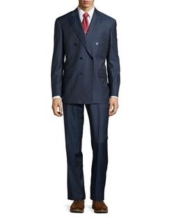 Two-Piece Stripe Suit by Ike Behar in Suits