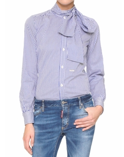Striped Sash Shirt by Dsquared2 in Elementary