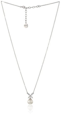 Pearl Cubic Zirconia Pendant Necklace by Majorica in Pretty Little Liars