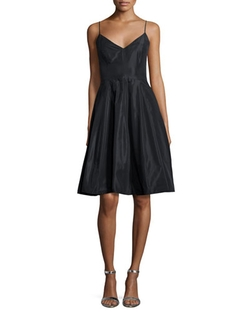 Sleeveless Fit & Flare Cocktail Dress by Halston Heritage in Forgetting Sarah Marshall