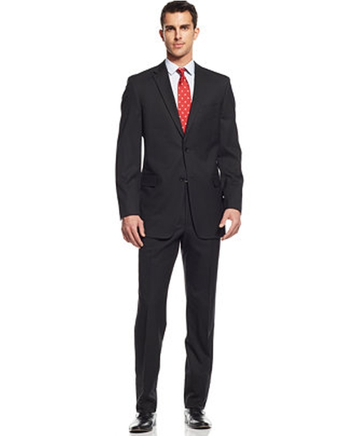 Tonal-Stripe Classic-Fit Suit by Tommy Hilfiger in London Has Fallen