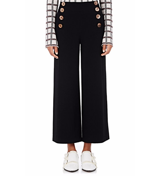 Crepe Sailor Pants by Derek Lam 10 Crosby in Keeping Up With The Kardashians - Season 12 Episode 3