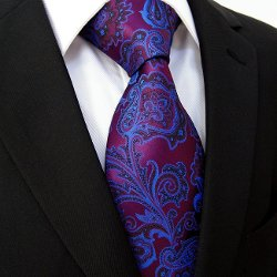Floral Paisley Men's Tie by S&W in Horrible Bosses 2