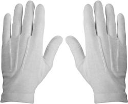 White Dress Parade Gloves by Rothco in Lee Daniels' The Butler