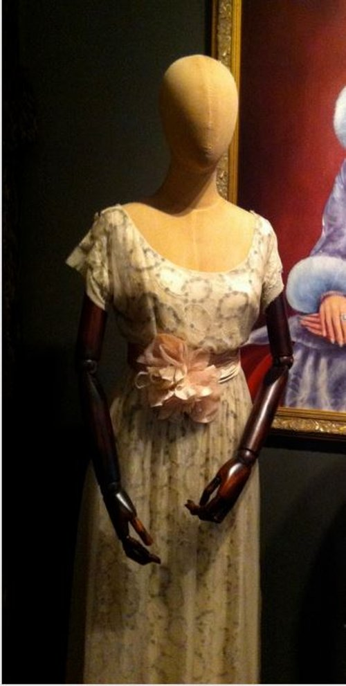 Custom Made Lace Dress (Daisy's Mother) by Catherine Martin (Costume Designer) in The Great Gatsby