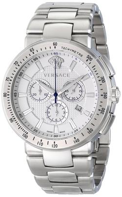 Mystique Sport Silver Watch by Versace in Ballers