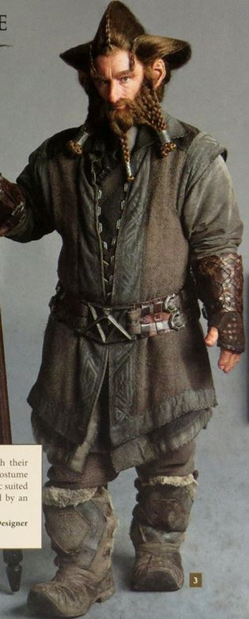 Custom Made Nori Costume by Ann Maskrey & Bob Buck (Costume Designer) in The Hobbit: The Battle of The Five Armies