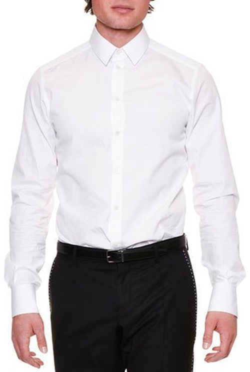 Long-Sleeve Woven Dress Shirt by Dolce & Gabbana in Jack Reacher