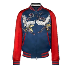 SS16 Embroidered Bomber Jacket by Louis Vuitton in Keeping Up With The Kardashians