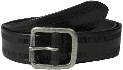 Leather Belt with Harness Buckle by John Varvatos in Entourage