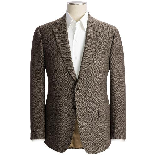 Large Nailhead Sport Coat - Wool-Cotton-Cashmere by Isaia in Yves Saint Laurent