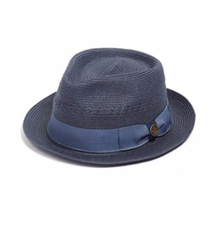 'Boogie' Braided Straw Fedora Hat by Goorin Brothers in Lethal Weapon