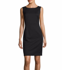 Carol Sleeveless Stretch-Wool Sheath Dress by Lafayette 148 New York in The Good Fight