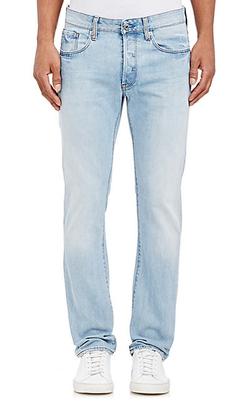 Slim Straight Jeans by G-Star Raw in Everybody Wants Some